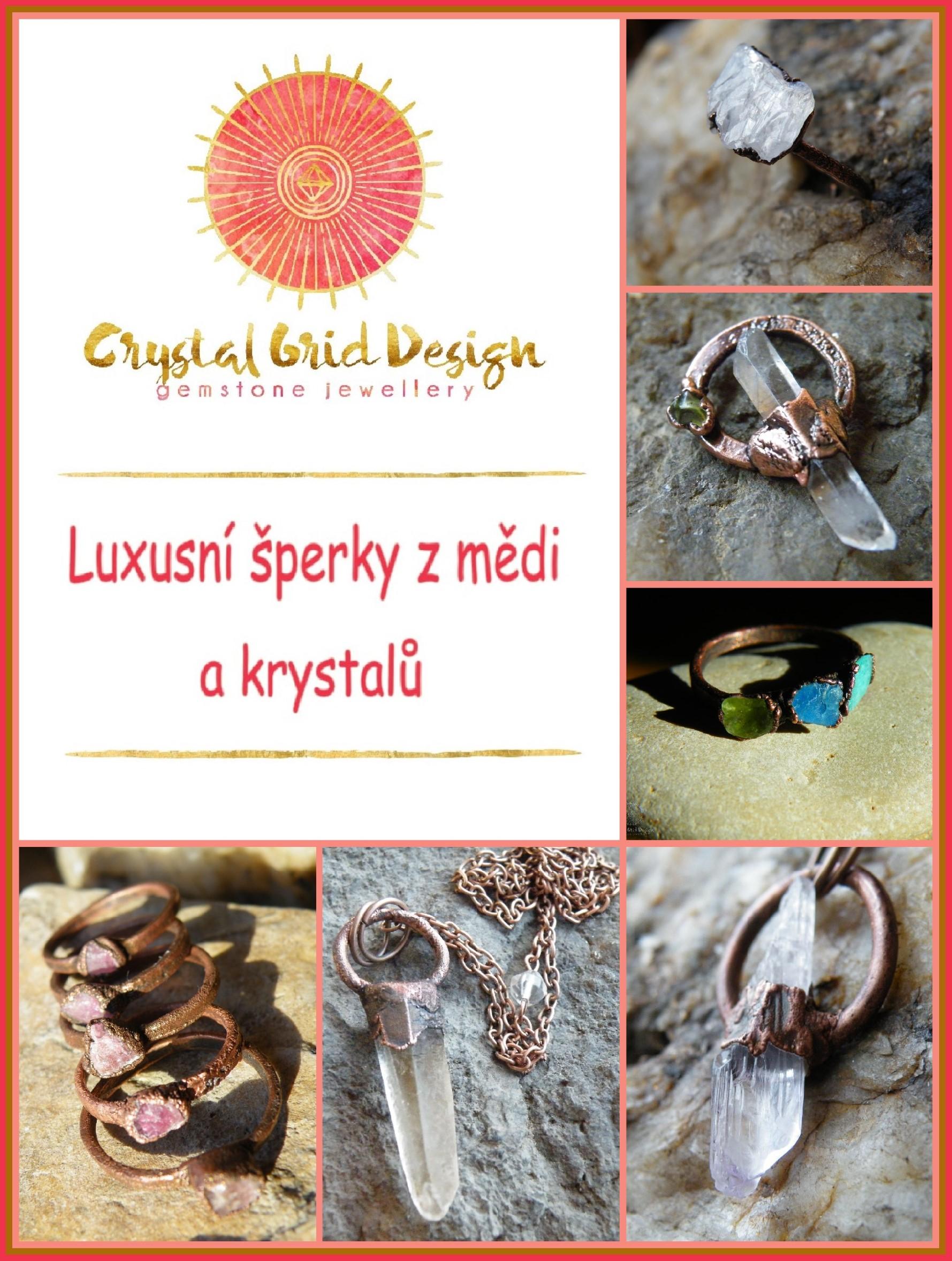Crystal Grid Design - Luxusní šperky