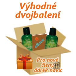 Výhodné dvojbalení Liquid Chlorophyll + e-book a dárek pro nové členy